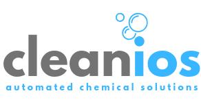 Company logo in white